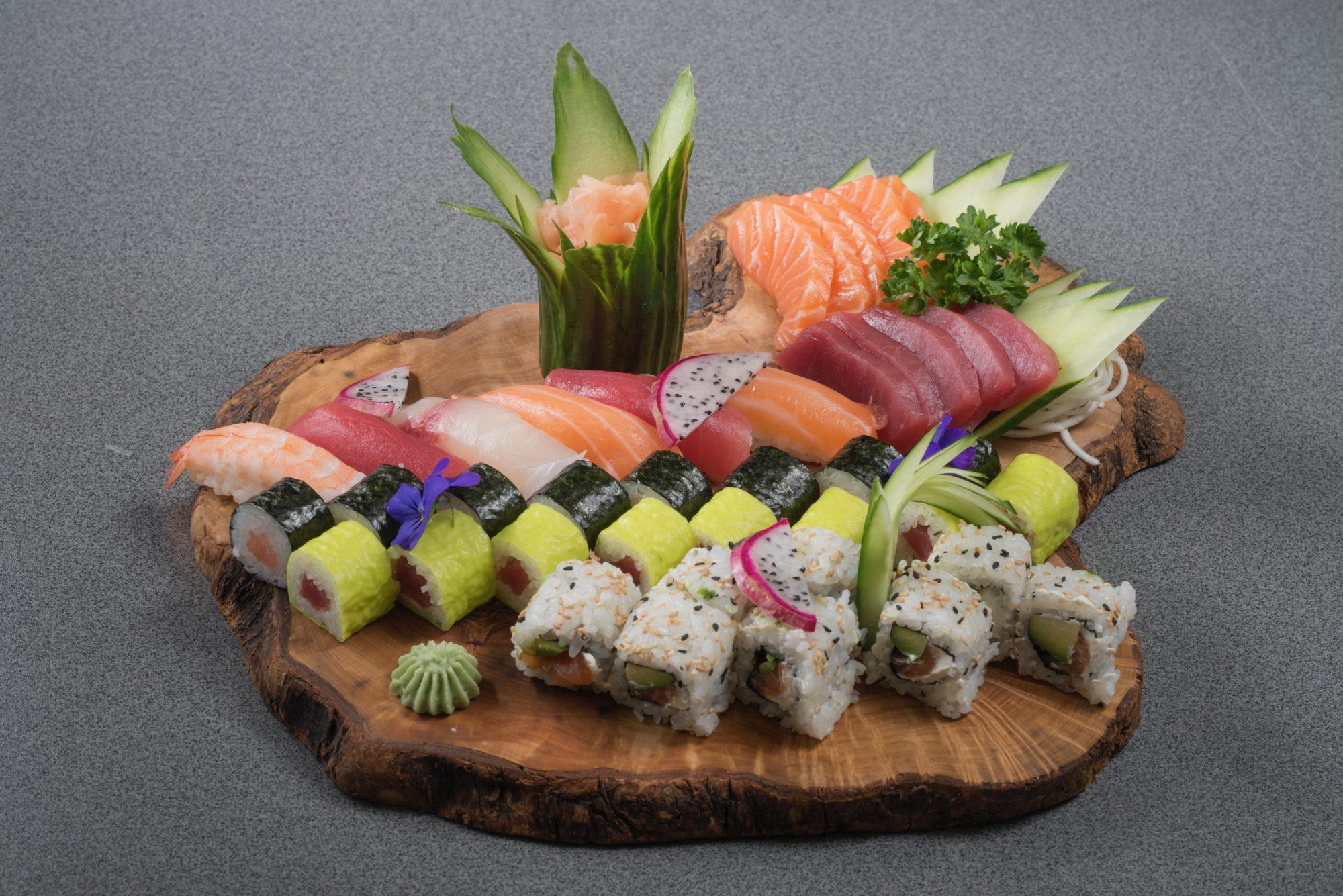 Livraison de Sushi à Lamanon