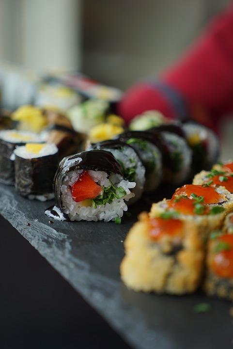 Livraison de Sushi à Pélissanne