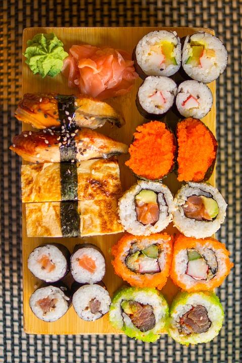livraison de sushi à grans